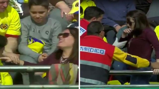 Tendangan Messi Melukai Penonton Wanita