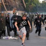 Kerusuhan di Zona Penggemar pada Puncak Final Kemaren