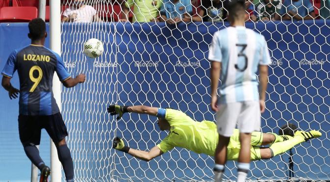 Argentina gagal Lolos ke babak selanjut nya
