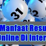 Kenali Manfaat Result Togel Online Di Internet